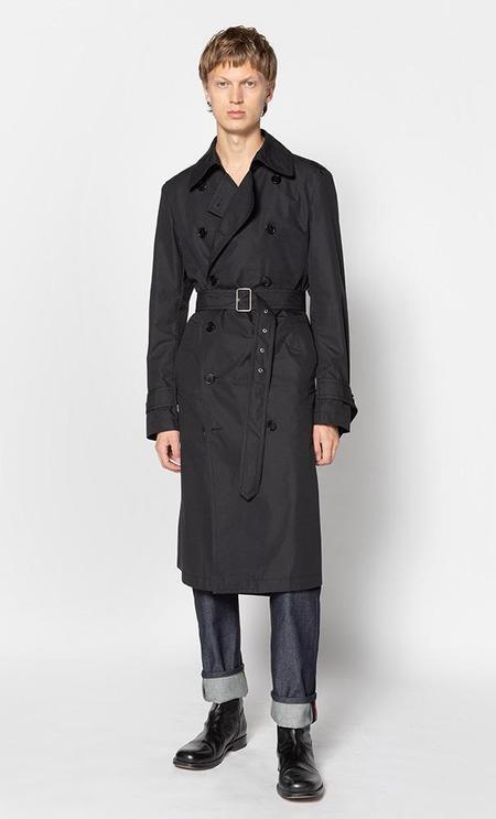 Dries Van Noten Rush coat - black