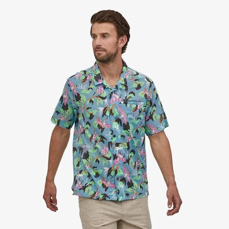 PATAGONIA Lightweight A/C™ Shirt - Spoonbills Big Sky Blue SPBG