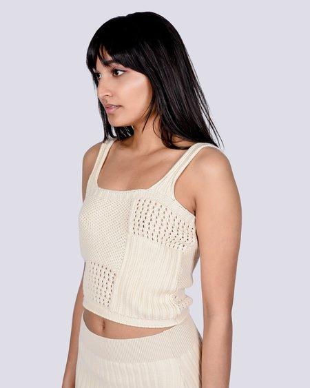 Rita Row Sol crochet top - beige