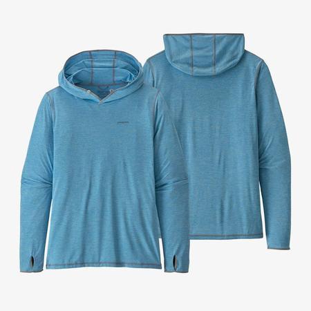 Patagonia Men's Tropic Comfort Hoody II sweater - Lago Blue/Fin Blue X-Dye