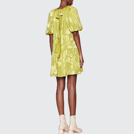 Stine Goya Ava Chiffon Dress - Lemon