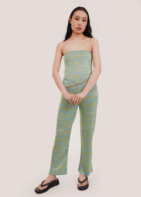 Paloma Wool Leo Top - Turquoise/Green