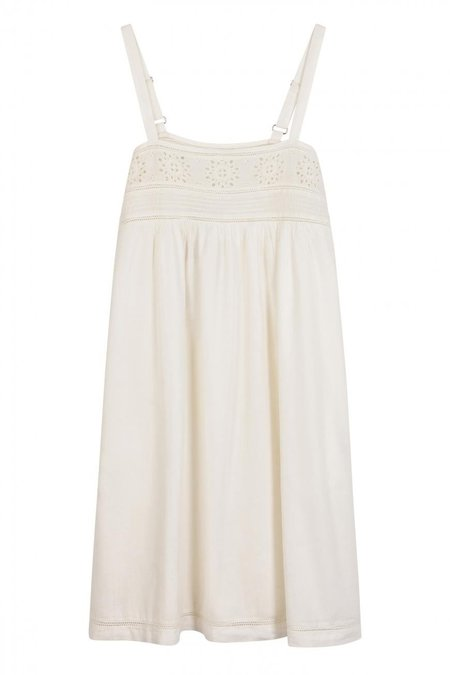 Leon and Harper Ramses Dress - white