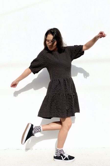 Eve Gravel Maia Dress - Black
