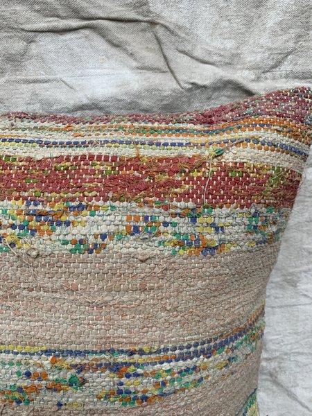 Cuttalossa & Co. Sherbet Rag Weave Throw Pillow