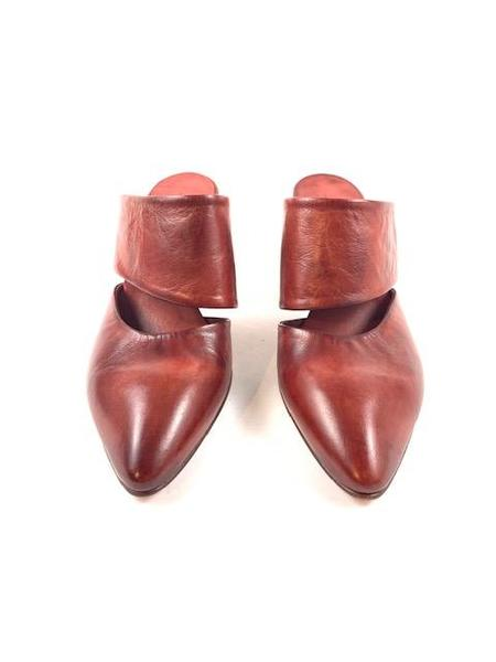Shoto Heeled Mule - Rust