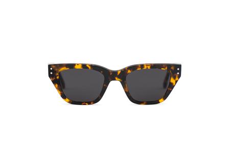 Monokel Memphis Sunglasses - Havana Grey
