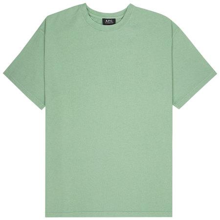 A.P.C. alex t-shirt - Vert Pale
