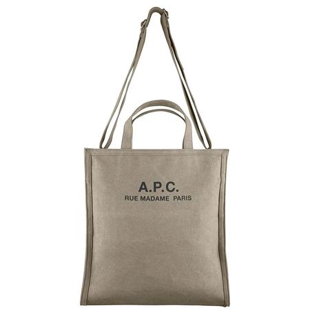 A.P.C. cabas recuperation bag - Khaki