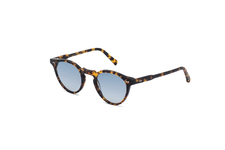 Monokel forest havana Gradient Blue Lens Snglasses