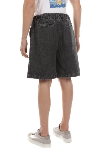 The Silted Company Denim Jeans Short - Grey