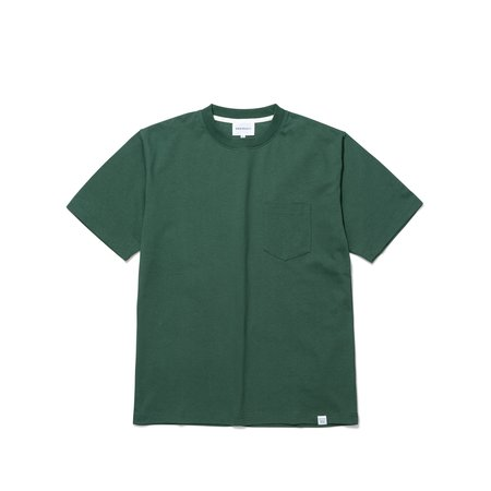 Norse Projects Johannes Pocket SS Tee - Dartmouth Green