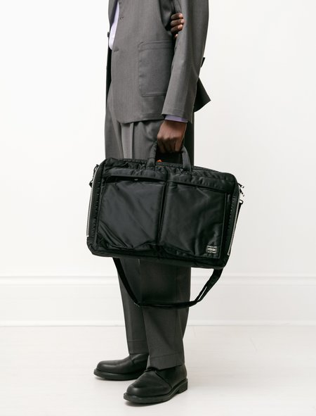 Porter Tanker 2Way Briefcase - Black