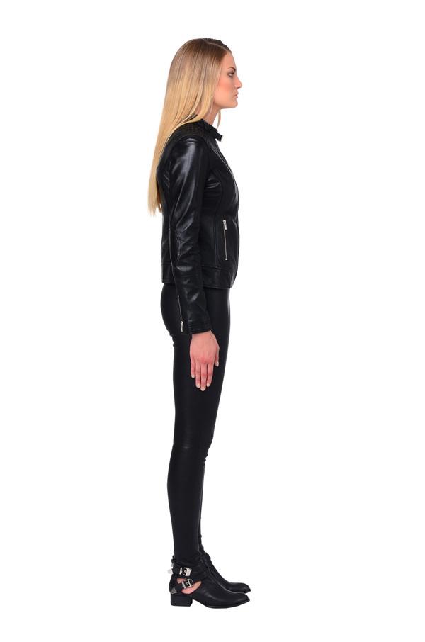LAMARQUE ALICE Studded Leather Jacket