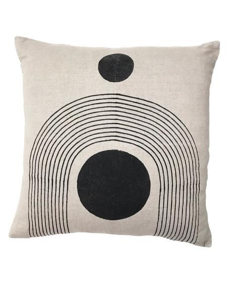 Block Shop Textiles Palace Pillow Case - Flax