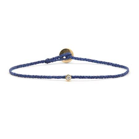 Scosha Diamond Bezel Bracelet - Royal Blue