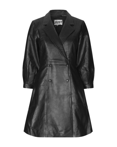Just Female Lexia Leather Dress