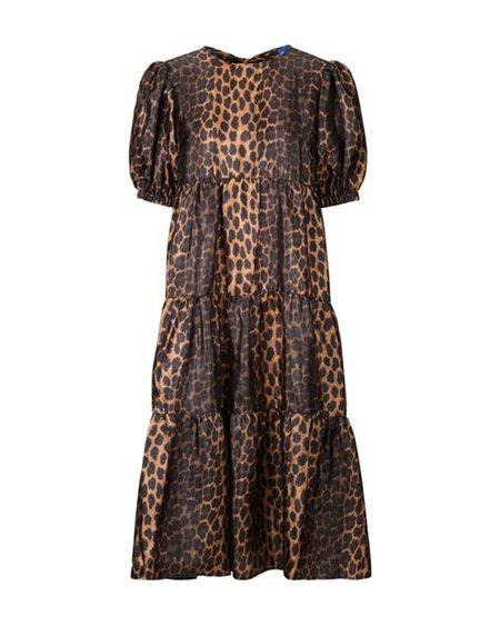 Cras Lili Dress - Wild Leopard