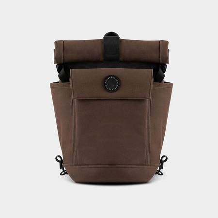 Fairweather 2 Way Backpack - Pannier/Brown