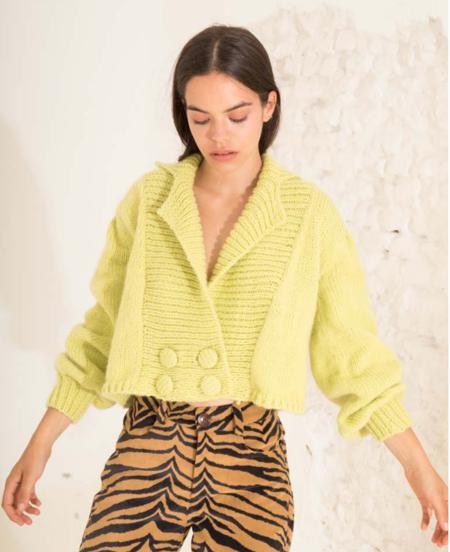 Tach Clothing Mia Cardigan - Light Green