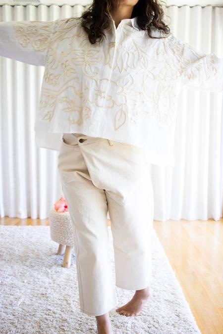 Mii Collection Greta Garden Shirt - Off White