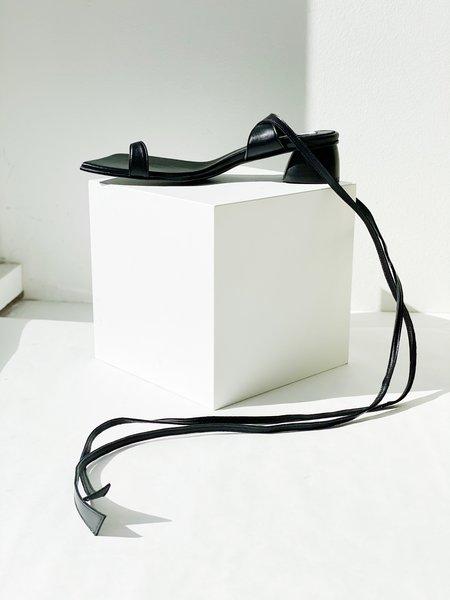 Reike Nen Toe Ring Sandals - Black