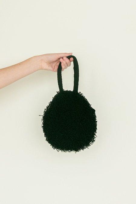 Megan Thompson Textural Circle Purse - Black