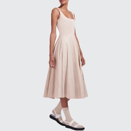 Staud Wells Dress - Biscotti
