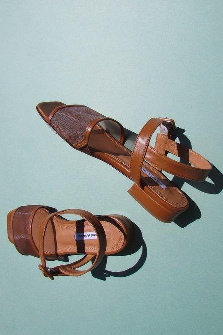 About Arianne marini mesh flax sandal - flax baby blue