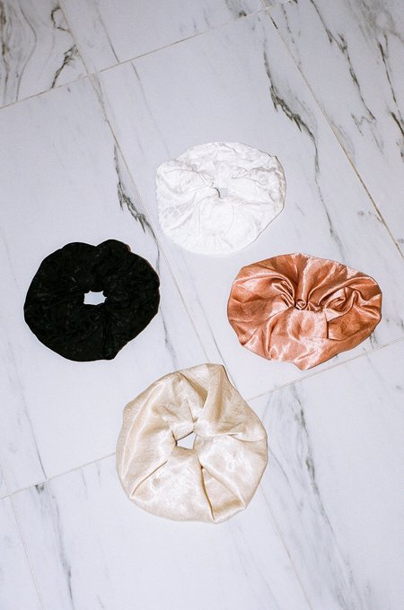 Soft Focus XL Silky Scrunchie | Set of 4