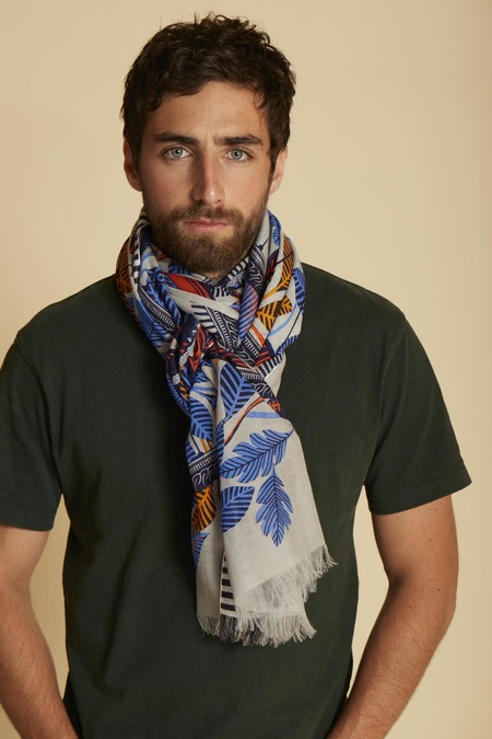 Inouitoosh Monsieur Hulot Scarf - Natural