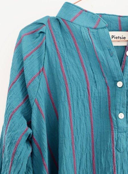 Pietsie Atlin Dress - Turquoise/Pink Stripe