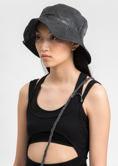 Hyein Seo Logo Bucket Hat - Grey
