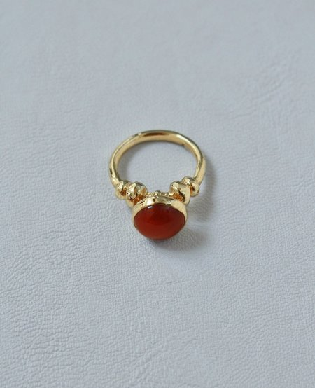Ora-C SOLARI golden ring