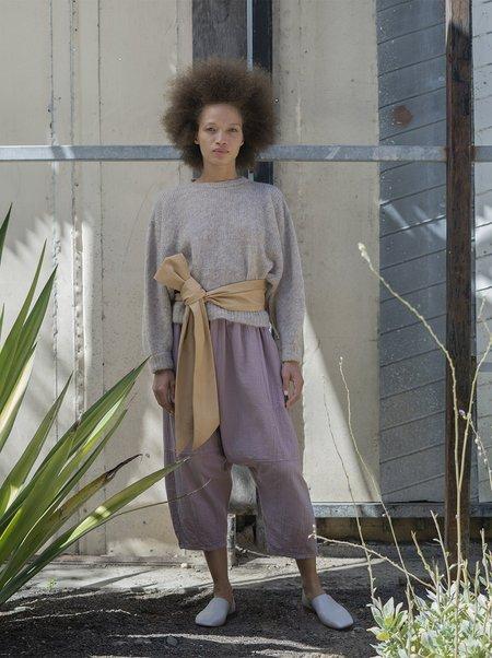 Atelier Delphine Kiko Wrinkled Cotton Pant - Desert Lavender