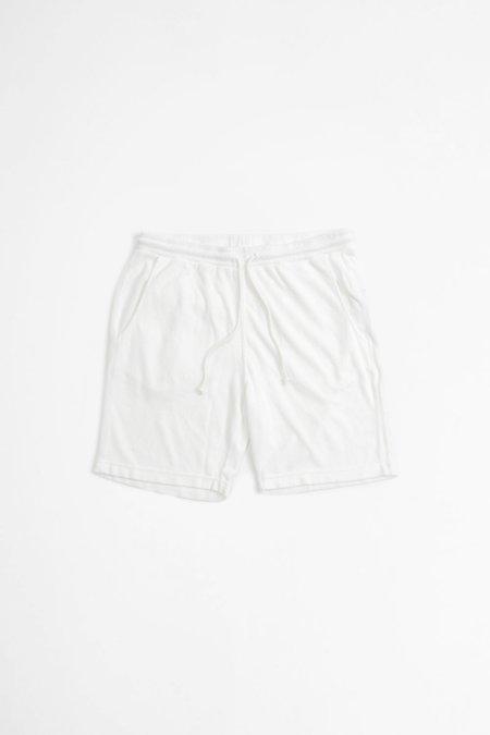 Universal Works Terry Fleece Beach Shorts - Ecru