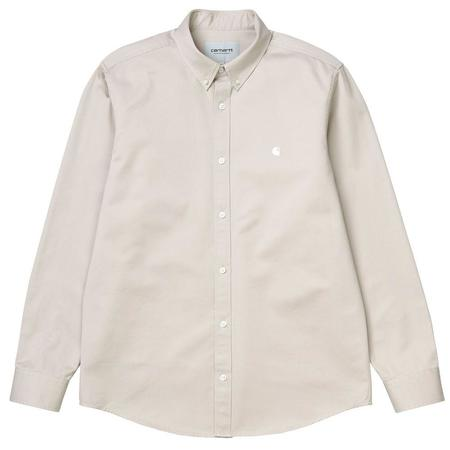 CARHARTT WIP L/S Madison Shirt - Glaze