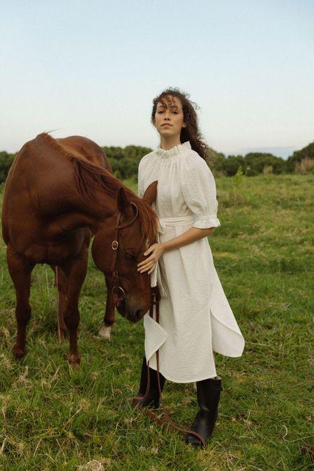 Muse the Label Uma Cotton Dress