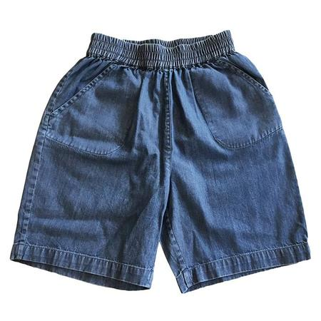 Kids Bonton Rambo Shorts - Chambray Blue