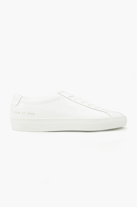 Common Projects Original Achilles Low White