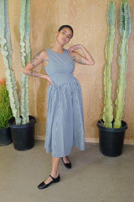 Sandy Liang Lull Gingham Dress