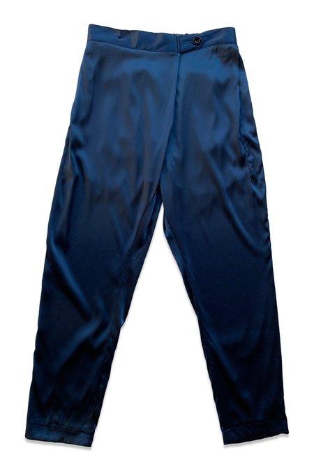 SEEKER Souk Silk Pant - Lapis