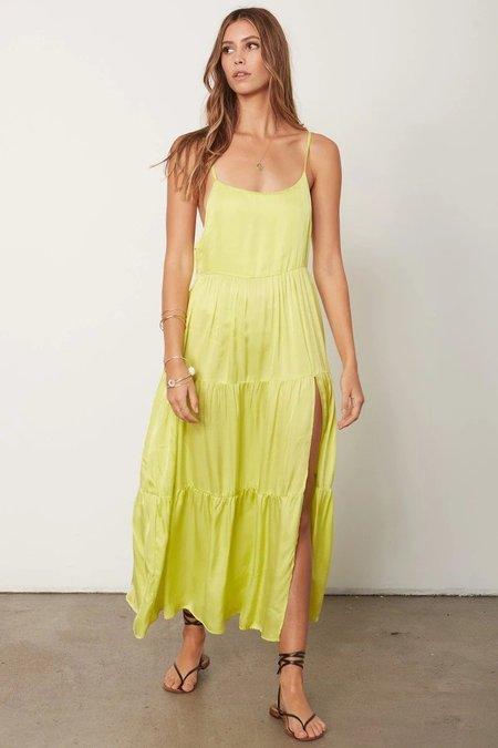Stillwater Memz Maxi Dress - Citron