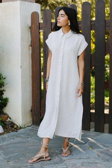 Rachel Pally Linen Stella Dress - Natural