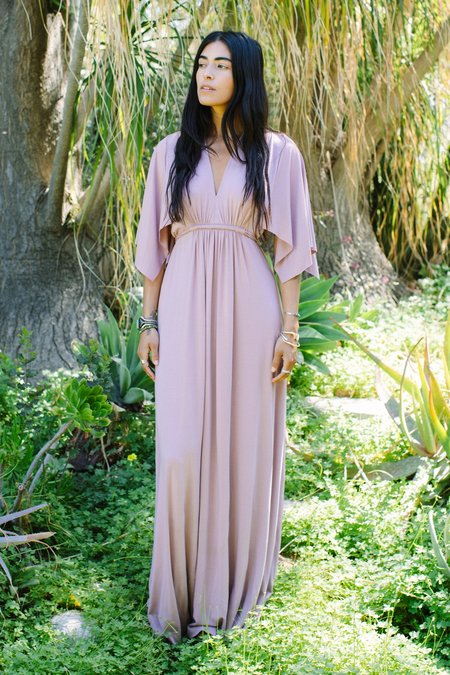 Rachel Pally Long Caftan Dress - Mauve