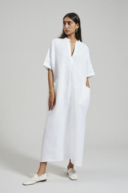 Rachel Comey Culver Linen Dress - White