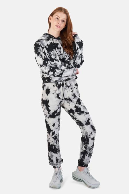 Cotton Citizen Milan Sweats Pants - Graphite Splatter