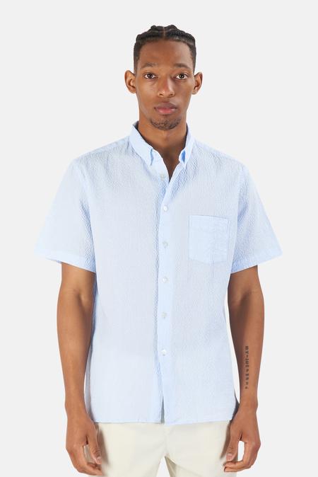 La Paz Ribeiro Pocket Shirt - Light Blue
