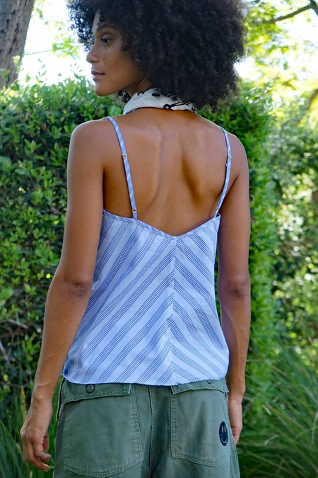 AqC OLGA top - shirting stripe