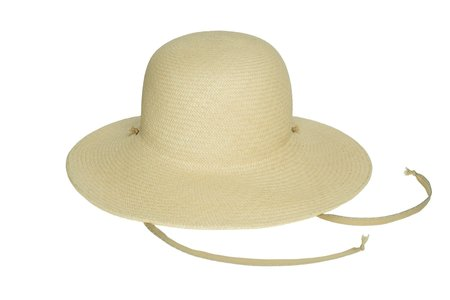 Clyde Koh Hat - Undyed Natural Panama Straw